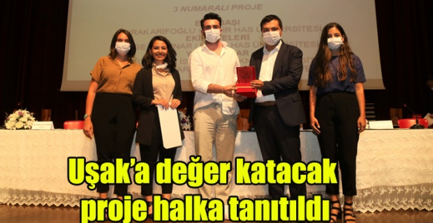 Uşak'a değer katacak proje halka tanıtıldı