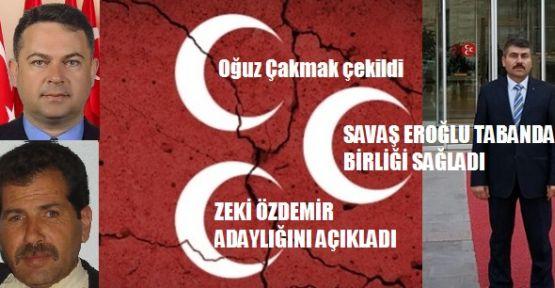 MHP'DE TOPYEKUN SAVAŞ (EROĞLU) SESLERİ