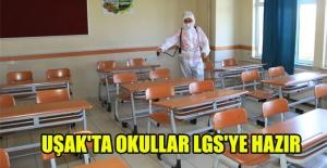 UŞAK'TA OKULLAR LGS'YE HAZIR