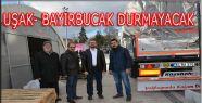 Bayırbucak Türkmenlerine İki TIR Daha Yardım Gitti